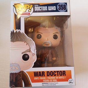 Funko Pop Doctor Who War Doctor 358 Vinyl Figure B